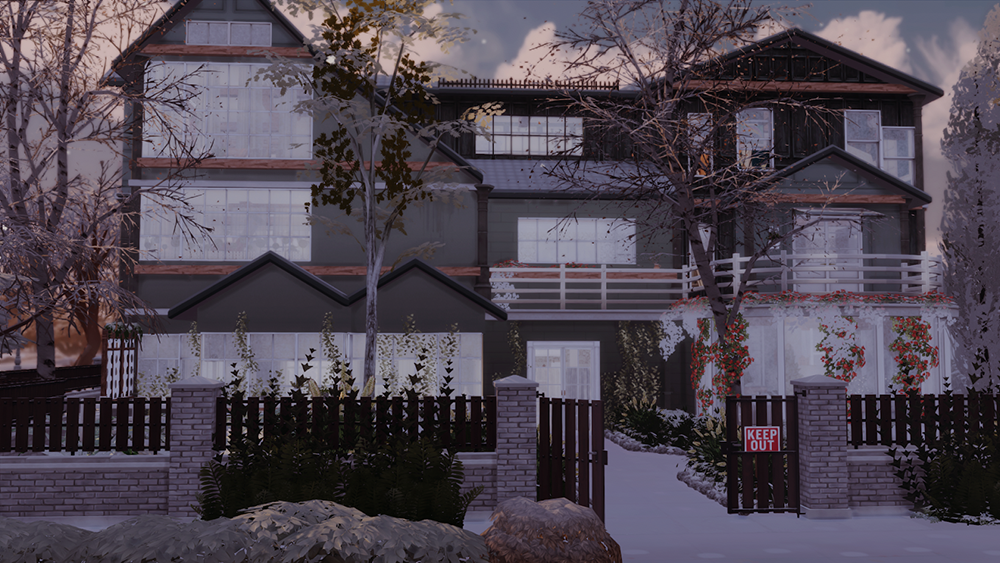 WINTER ROSE   FAMILY HOME BY SOULSISTERSIMS