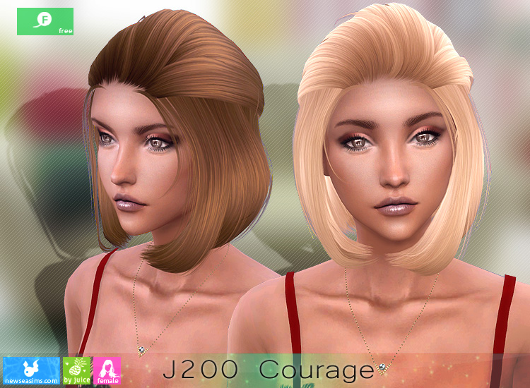 J200 COURAGE HAIRSTYLE BY NEWSEA SIMS