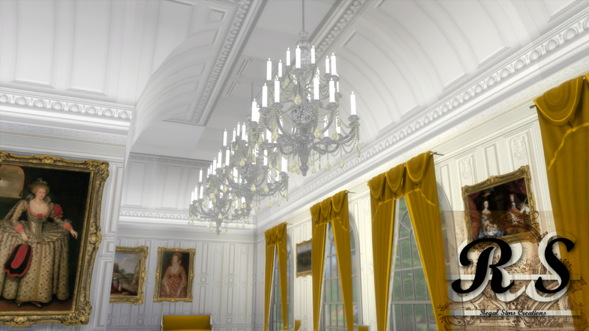 VAULTED CEILING SET BY REGAL SIMS