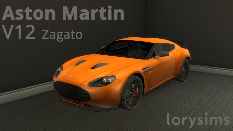 ASTON MARTIN V12 ZAGATO BY LORYSIMS