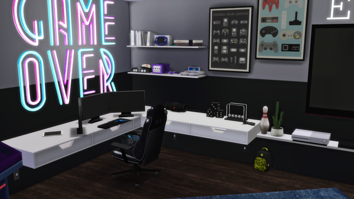 GAME ROOM BY MODELSIMS4