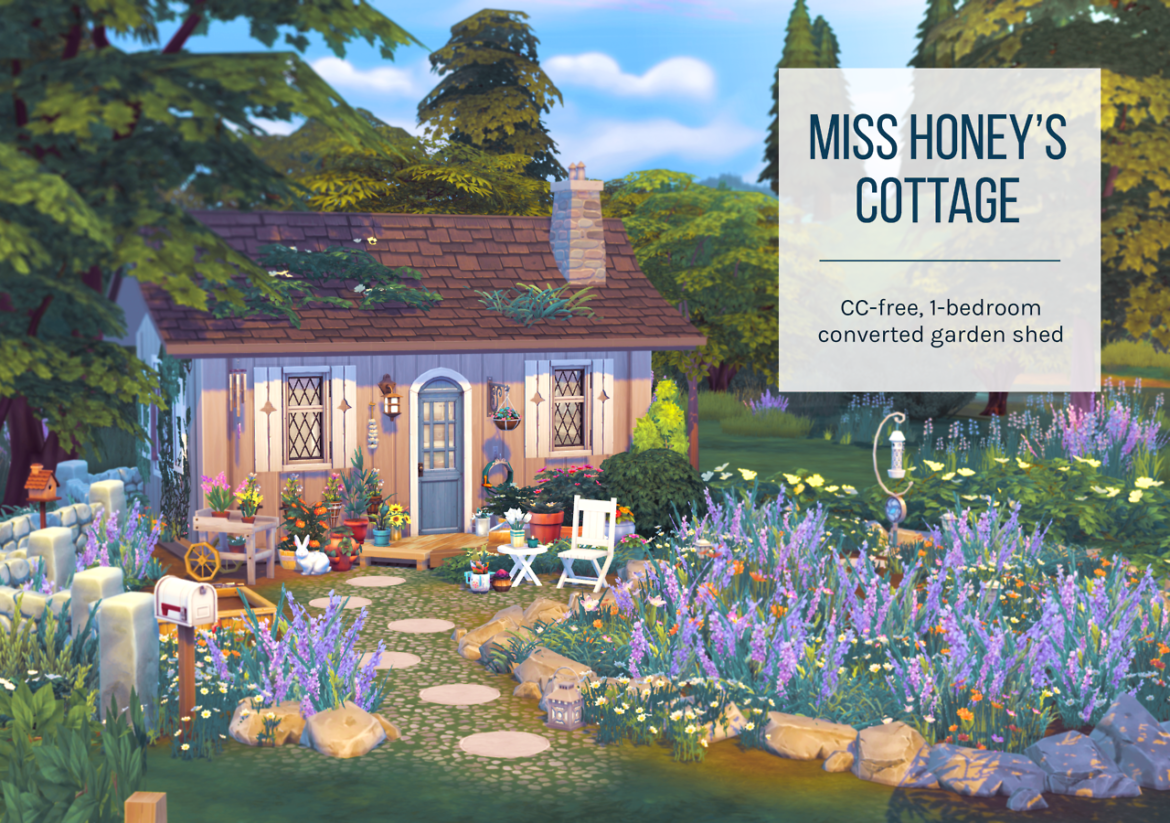 MISS HONEY'S COTTAGE BY FEMMEONAMISSIONSIMS