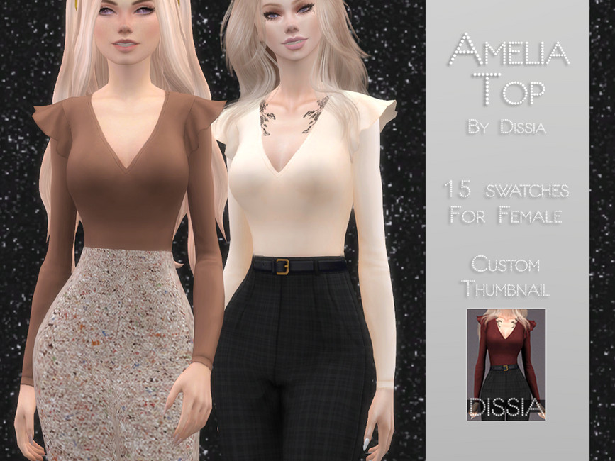 AMELIA TOP BY DISSIA