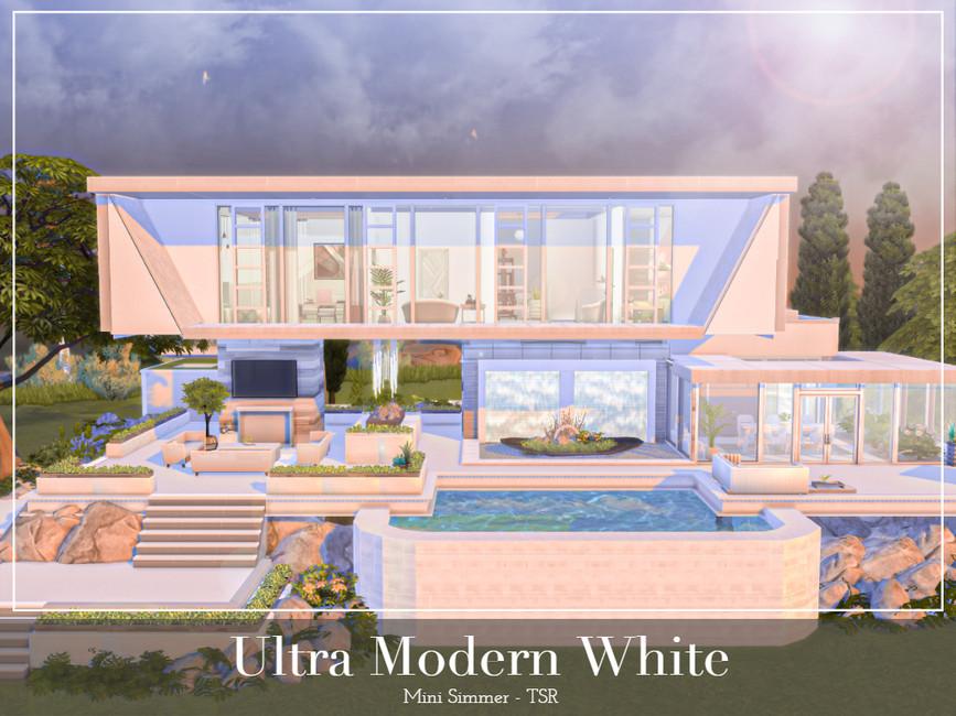 ULTRA MODERN WHITE BY MINI SIMMER