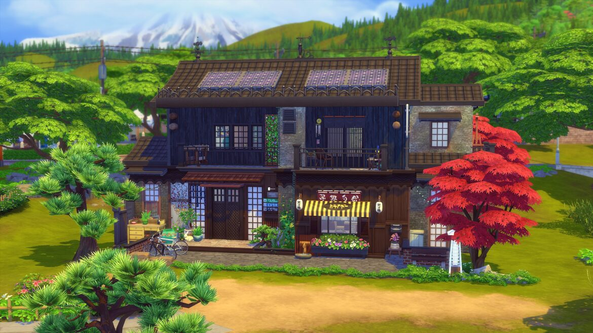 KOKEDAMA ASIAN HOME BY ANGEROUGE BY STUDIO SIMS CREATION