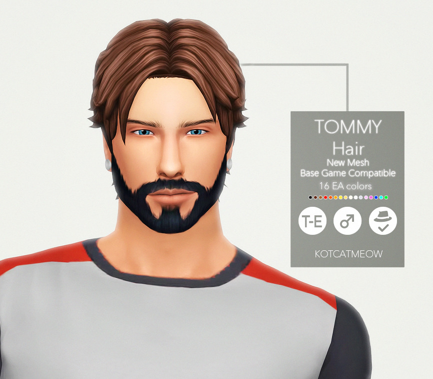 TOMMY HAIR BY KOTCATMEOW