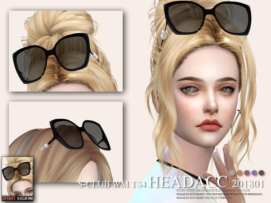 GLASSES HEAD ACC F 201801 BY S-CLUB WM