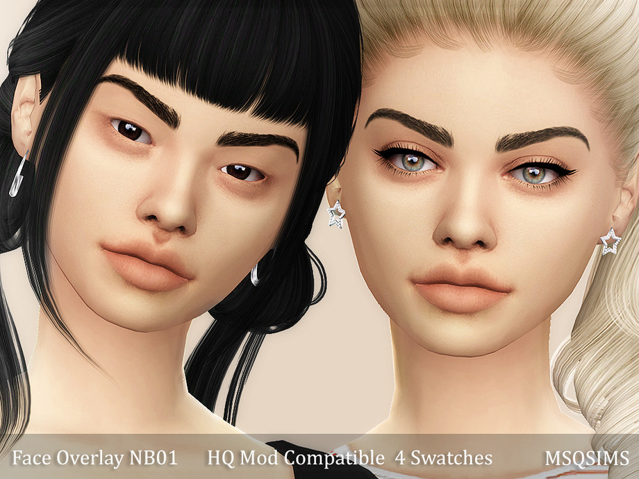 FACE OVERLAY NB01 BY MSQ SIMS