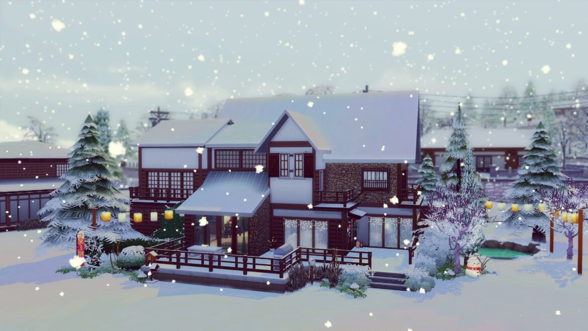 LITCHI HOUSE BY ANGEROUGE BY STUDIO SIMS CREATION