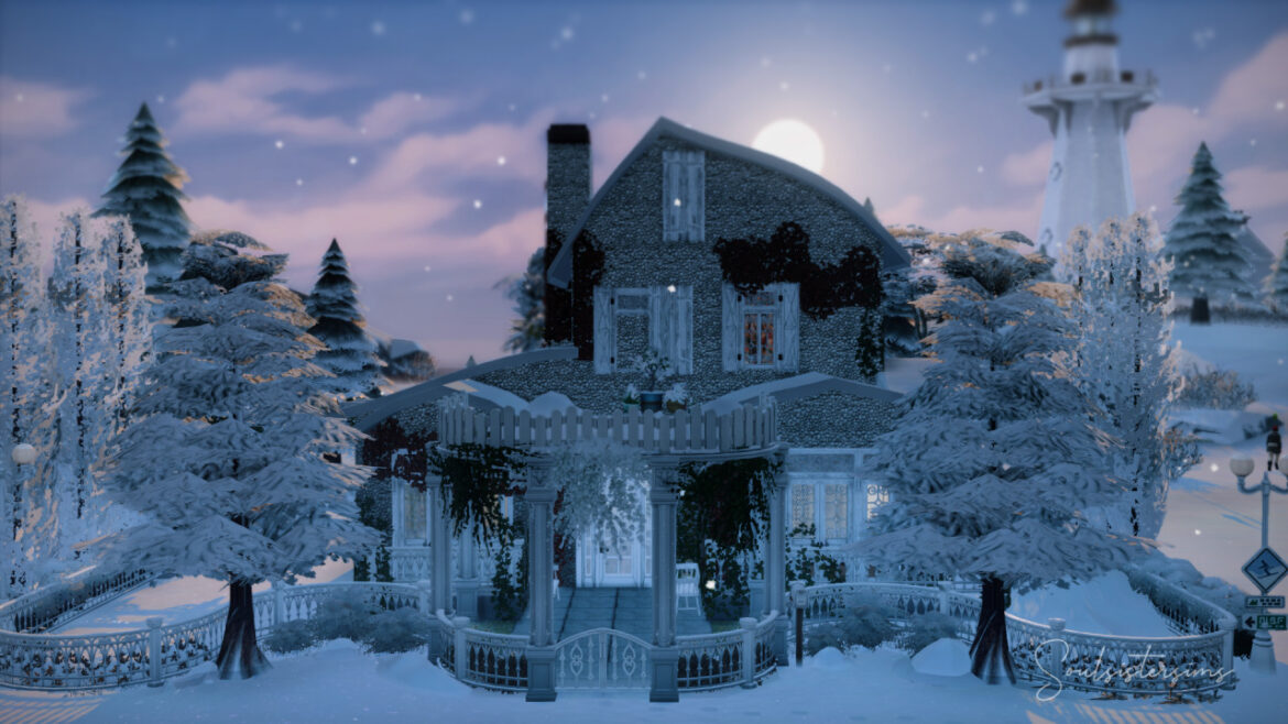 WINTER COTTAGE BY SOULSISTERSIMS