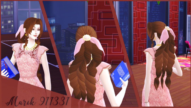 AERITH HAT ACC BY MARIK911331