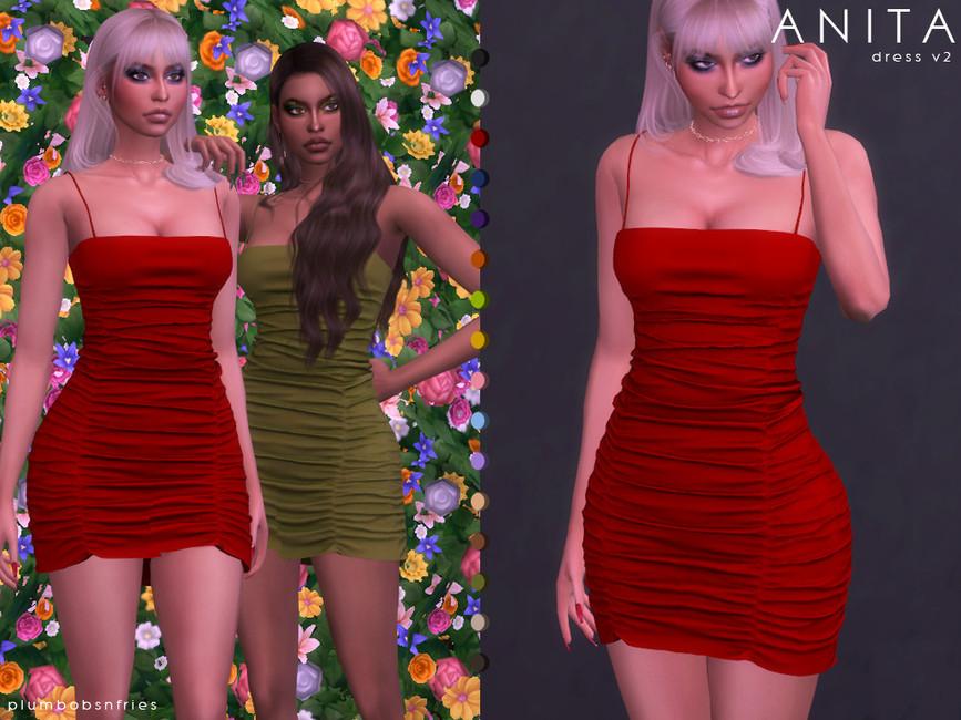 ANITA DRESS V2 BY PLUMBOBS N FRIES