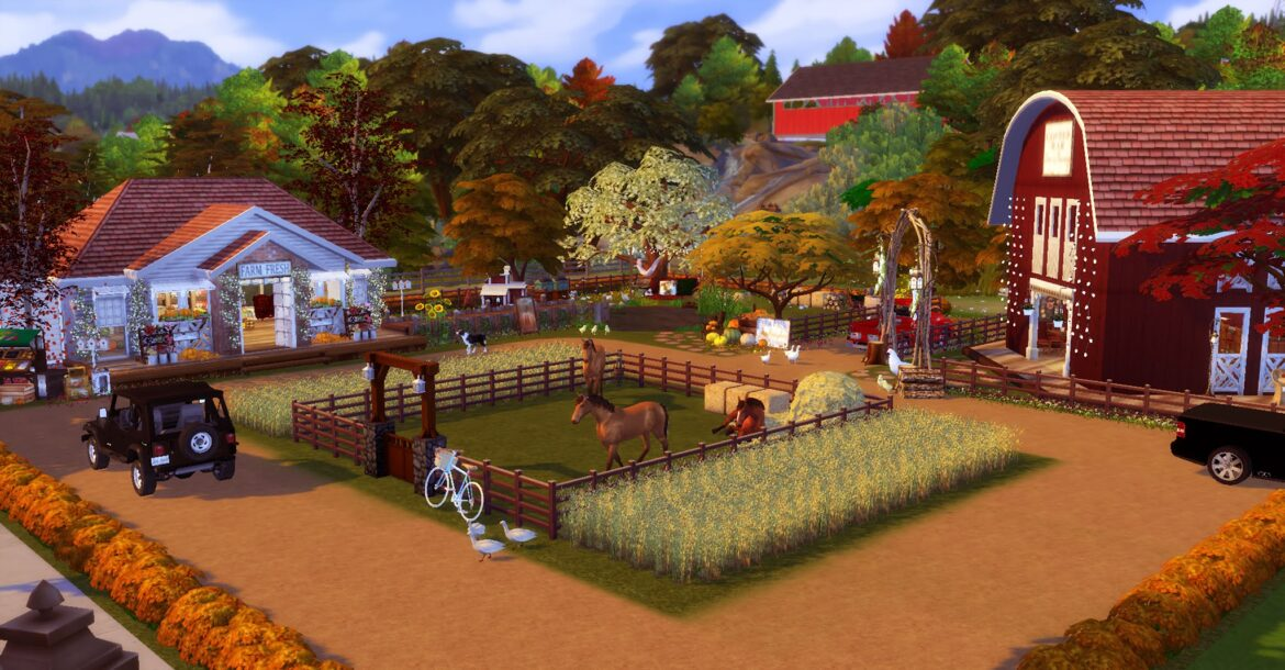 FARM VILLE BY LILLY SIMS