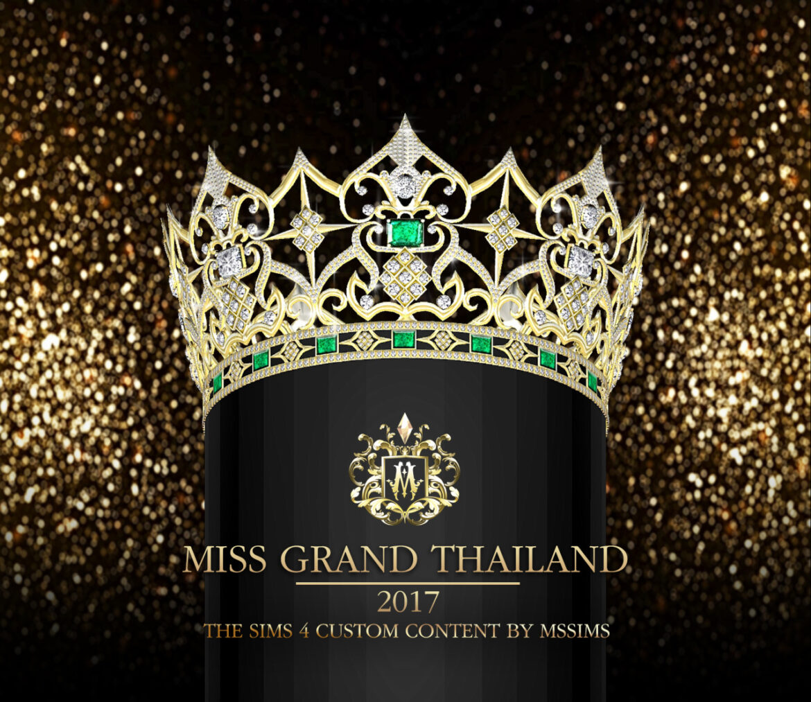 MISS GRAND THAILAND 2017 CROWN BY MSSIMS