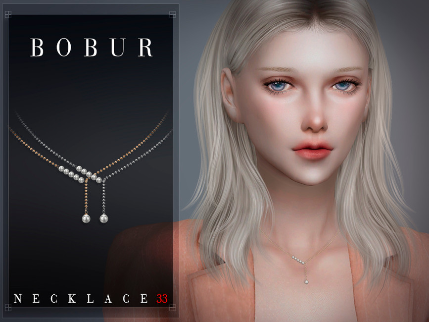 PEARL NECKLACE BY BOBUR3